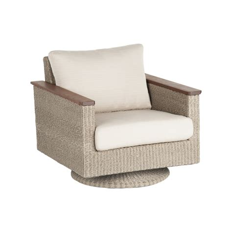 leisure coral swivel rocker universal patio