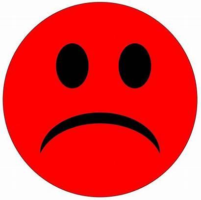 Sad Face Frowny Clip Unhappy Clipart Faces