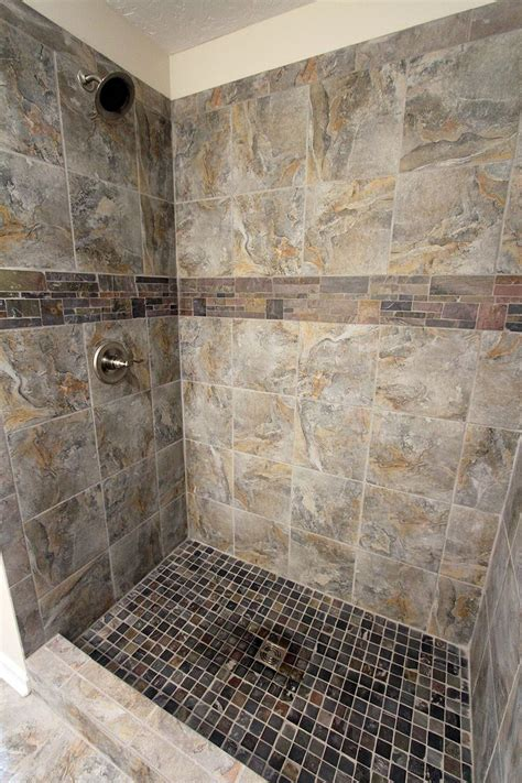 romina gray tile shower gray shower tile shower tile