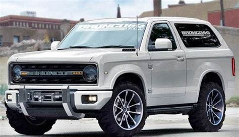 Ford Scout 2020 by Best 25 Bronco Concept Ideas On