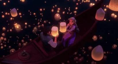 Tangled Scene Floating Lights Festivals Actually Looks