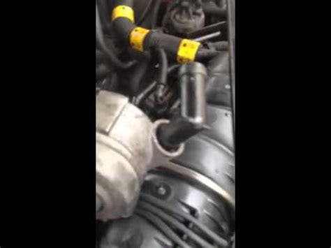 impala heater bypass hose youtube