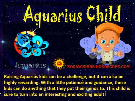 aquarius child personality traits characteristics jan feb