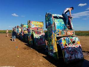Cadillac Ranch Roadside Attraction In Amarillo TX Laugh With Us Blog