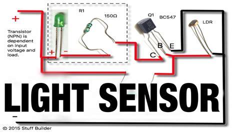 Turns When Dark How Build The Simplest Light Sensor