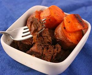 Maple Barbecue Beef Slow Cooker Recipe