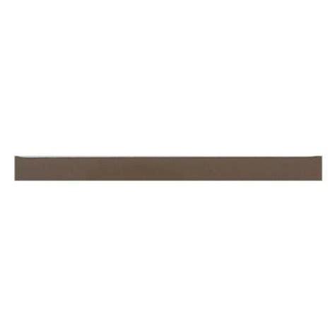 daltile liners artisan brown 1 2 in x 6 in ceramic liner