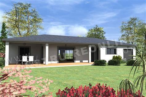 plan maison plain pied 3 chambres 100m2 plan de maison moderne mirage