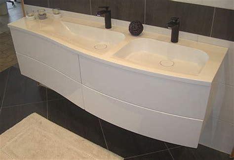 Badezimmermöbel Creme by Burgbad Sinea 1 0 Doppelwaschbecken Mit Unterschrank