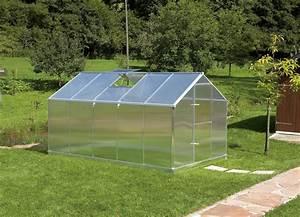 Gewächshaus 6 Qm : gartentec aluminium gew chshaus typ f5 8 49 qm 6 mm ~ Whattoseeinmadrid.com Haus und Dekorationen