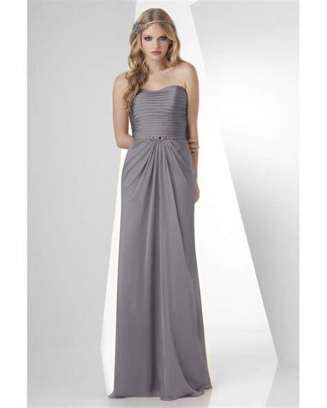 Shirred Bodice Chiffon Bari Jay Bridesmaid Dress 872Outlet ...