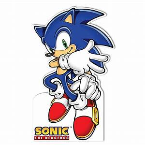"Sonic the Hedgehog Standup - 68"" Tall BirthdayExpress com"
