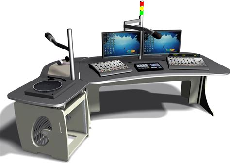 Office Desk Radio by Custom Consoles News