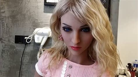 Best Sex Doll Collection Blond Woman With Bronze SkinSexy