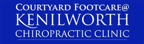 associates kenilworth chiropractic courtyard footcare clinic affiliates