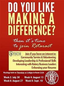 Volunteer Resume Make A Difference Join The Rotaract Club New England