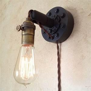 Lampe Murale Industrielle : branchez applique murale industrielle lampe edison r tro resto fefe pinterest lampe ~ Teatrodelosmanantiales.com Idées de Décoration