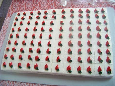 rosebud sheet cake cakecentralcom