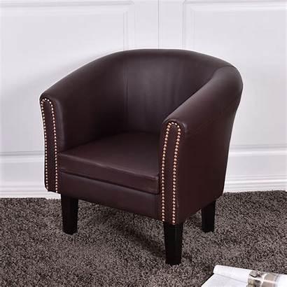 Single Chair Cushion Sofa Leather Seat Dry
