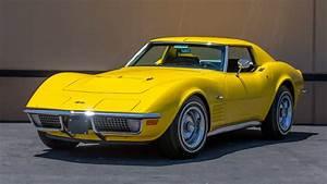 Sunflower Yellow 1971 Chevrolet Corvette