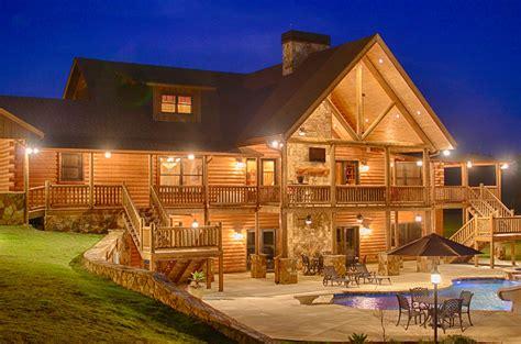 Log Home Exteriors
