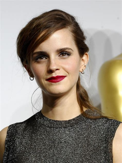 Veja Fotos Videos Emma Watson Premiacao Oscar