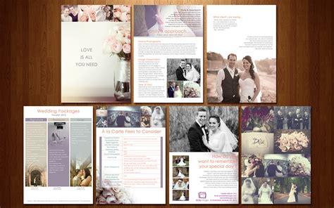 wedding photography brochure  pinterest photography marketing brochure template  wedding