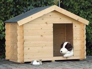 Niche Grand Chien Xxl : niche chien en bois milou 150 x 90 cm castorama ~ Dailycaller-alerts.com Idées de Décoration