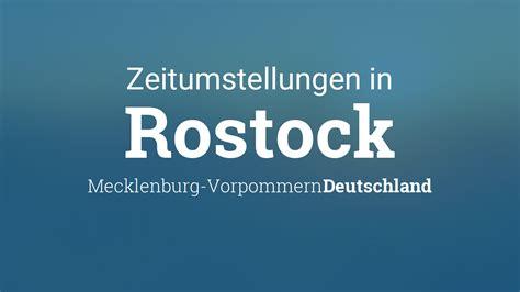 Wie werden im märz die uhren umgestellt? Zeitumstellung 2021: Sommerzeit in Rostock, Mecklenburg ...