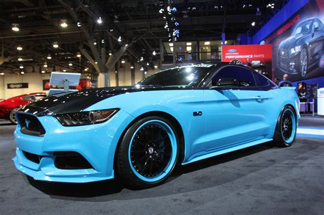 ford mustang  richard petty special edition sema