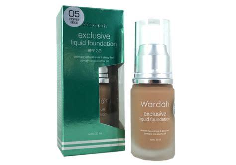 Harga Wardah Exclusive Liquid Foundation Spf 30 review wardah exclusive liquid foundation yukcoba in