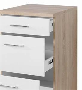 Arbeitsplatte Küche 60 Cm : neu k chen unterschrank lissabon k chenschrank mit schubladen 50cm weiss sonoma ebay ~ Indierocktalk.com Haus und Dekorationen