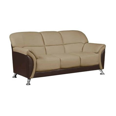 global furniture usa sofa global furniture usa leather sofa in cappuccino 525117