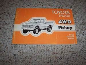 1982 Toyota 4wd Pickup Truck Factory Original Owners Owner