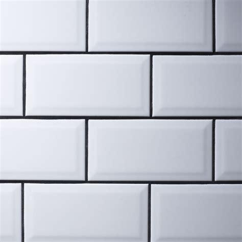 Metro White Wall Tiles 10 X 20cm Stonetradercouk