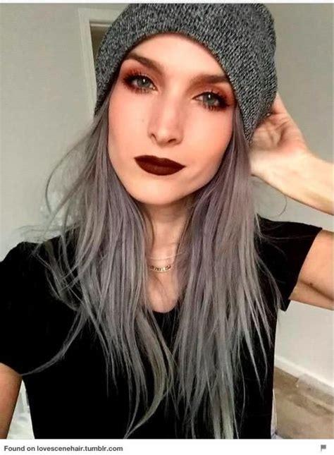 110 Best Granny Hair Images On Pinterest Colourful Hair