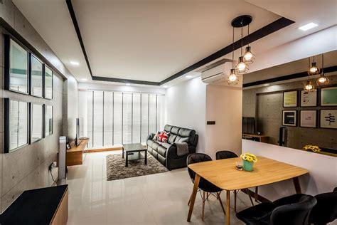 tinted mirror interior design singapore interior