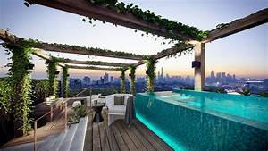 A Rooftop Swimming Pool Will Look More Beautiful When
