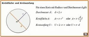 Kreisvolumen Berechnen : formel umstellen kreis mathe mathematik pi ~ Themetempest.com Abrechnung