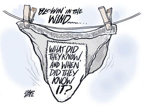 dirty laundry  barbeefish politics cartoon toonpool