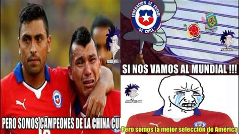 memes chile fuera mundial brasil vs chile 3 0 el