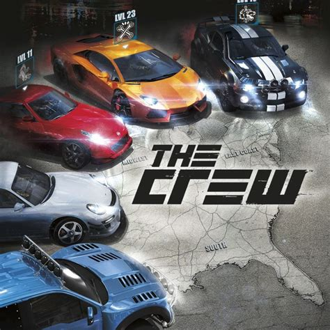 The Crew (2014) Playstation 4 Box Cover Art