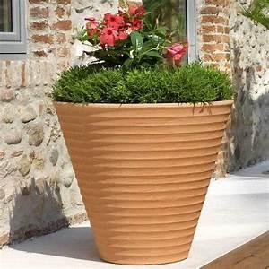 Pots En Terre Cuite Carrefour : pot de fleurs africa 80 x 69 cm terre cuite 02418080030 ~ Dailycaller-alerts.com Idées de Décoration