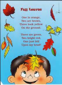 Kids Poems About Fall