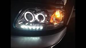 2000 Ford F-150 Led  Halogen Headlight Upgrade