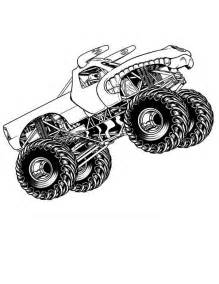 Monster Truck Jam Coloring Pages