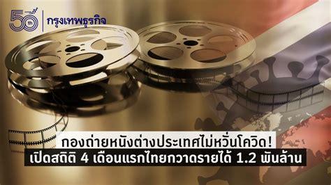 กองถ่ายหนังต่างประเทศไม่หวั่นโควิด! เปิดสถิติ 4 เดือนแรกไทยกวาดรายได้ 1.2 พันล้าน