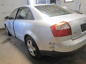 Parting Out 2002 Audi A4 - Stock   140153 - Tom U0026 39 S Foreign Auto Parts