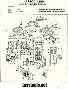 Associated Model R100 R80 R60 Parts List  Wiring Diagram