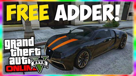 "Home » grand theft auto 5 » gta 5 online » gta online aircraft spawn locations. GTA 5 Rare Cars: FREE ADDER! ""Adder Spawn Location - GTA 5 Online!"" GTA 5 Rare Car Locations ..."